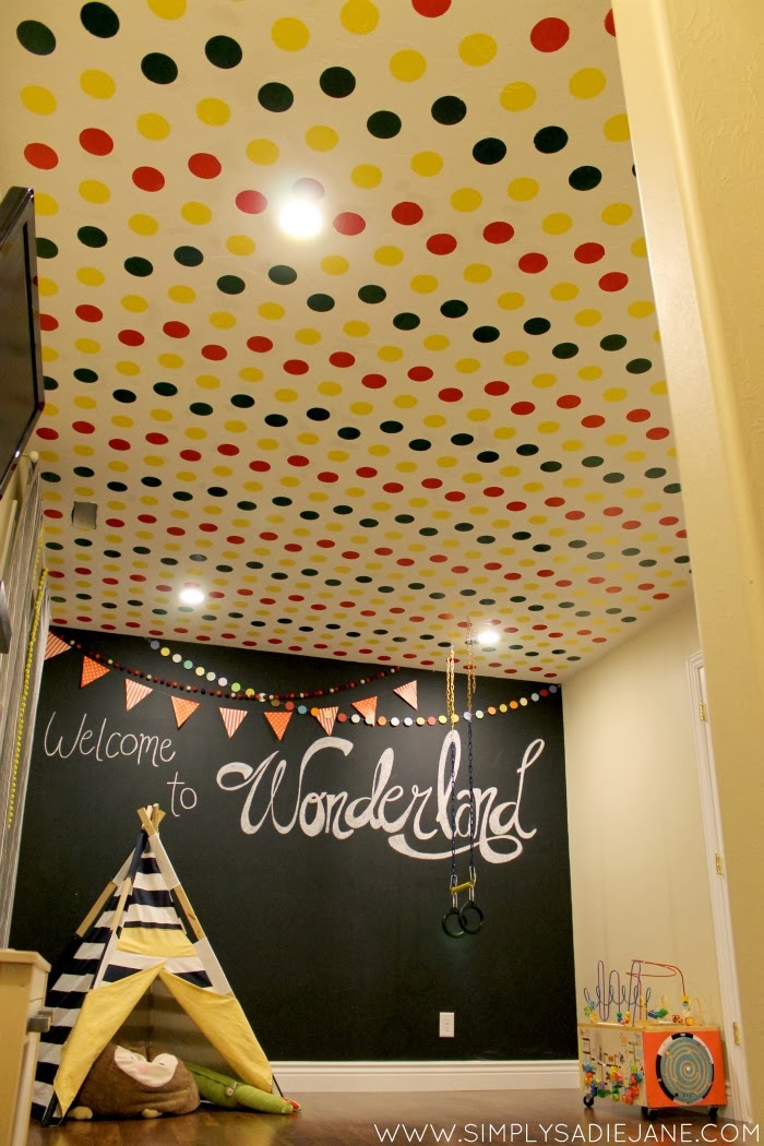 PLAYROOM REVEAL {post #3}: the accent painting {Tutorials}