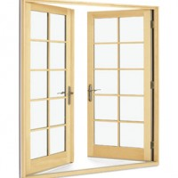 Integrity Fiberglass Wood-Ultrex Outswing French Door IOM