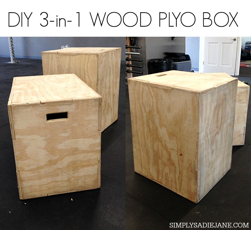 diy 3 in 1 wood plyo box for 35 fitness tutorials