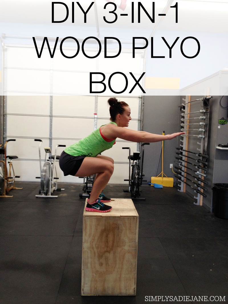 Plyo boxes fitness conditioning