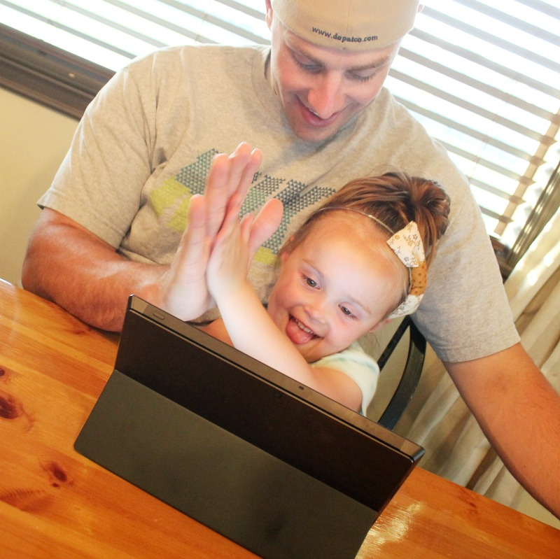 Why I support having a tech-savvy child: {BING in the classroom}