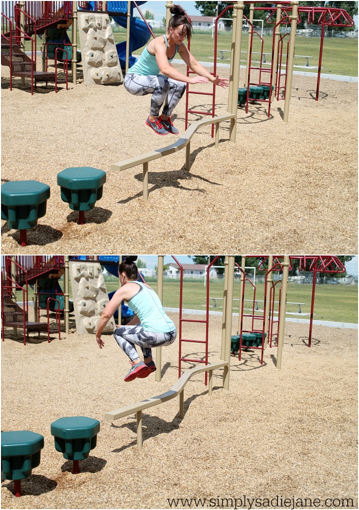 CROSSFIT INSPIRED PLAYGROUND WORKOUT #5 {Fitness}