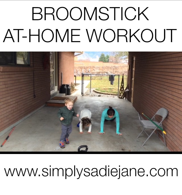 BROOMSTICK WORKOUT – Fitness – Video of the week