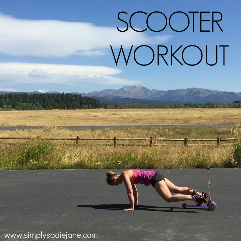 Scooter Workout – video of the week