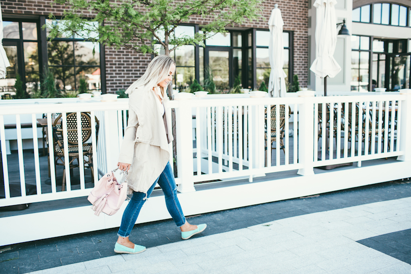 Rainy Summer days call for the perfect trench. – fashion