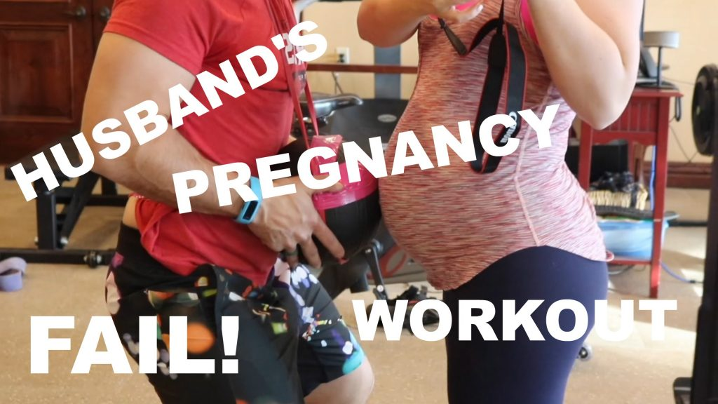 When you're pregnant, you can ask your husband to do anything you want…