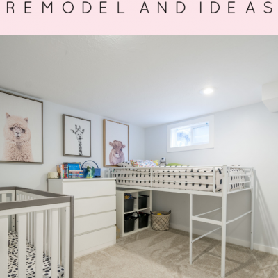 Boys Bedroom Remodel