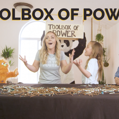 Simply Kids Love Course Toolbox of Power
