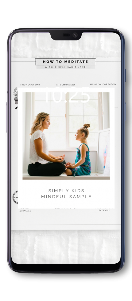 simply mindful kids meditation sample